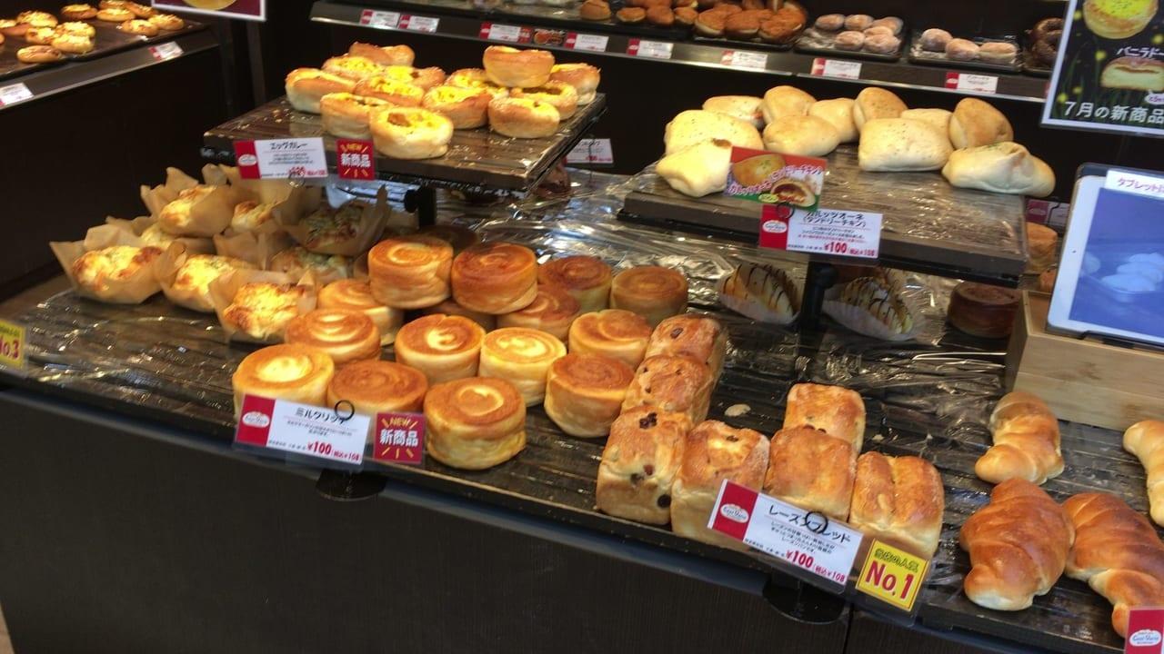 サンヴァリエステイ店のパン